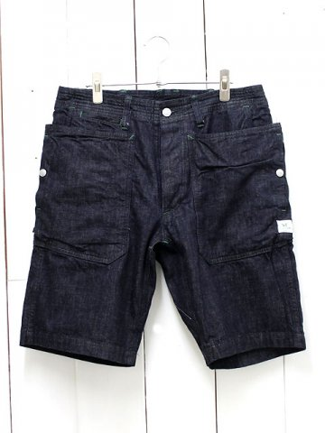 SASSAFRAS(ササフラス)<br>FALL LEAF SPRAYER PANTS1/2 9oz DENIM INDIGO (SF-161106)