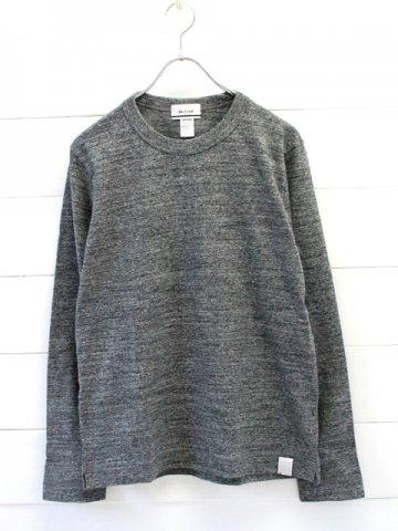 BETTER (ベター) クルーネック 長袖tシャツ (BTR1603L)