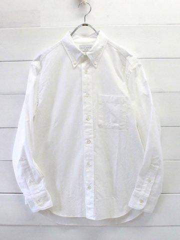 MANUAL ALPHABET(マニュアルアルファベット) <br>オックスフォード ボタンダウンシャツ (BASIC-MK-003)