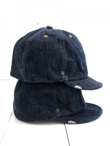 DECHO(デコー) BALL CAP -DENIM- (2-1SD18)