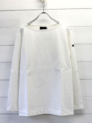 Le minor(ルミノア)  solid basque shirt L/S (le002)