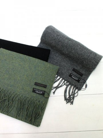 HOUSE OF HARRISONS(ハウスオブハリソンズ) WOOL MUFFLER