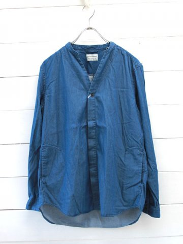 MANUAL ALPHABET(マニュアルアルファベット)<br>DENIM SHT CARDIGAN (MA-S-424)
