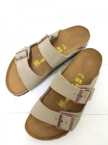 ●20%OFF●<br>BIRKENSTOCK(ビルケンシュトック) <br>ARIZONA SUEDE / TAUPE (051461)(051463)