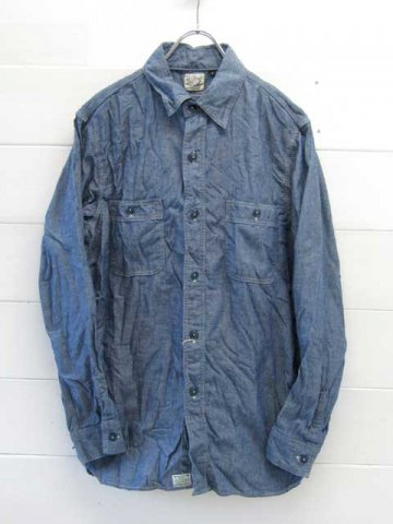 orslow (オアスロウ) WORK SHIRTS CHAMBRAY (01-8070)