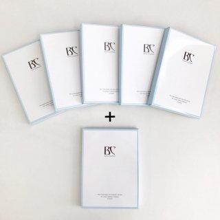 艶肌マスク5箱(1箱5枚入)+1箱(サービス)