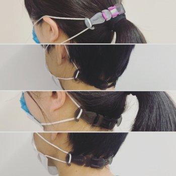 マスクストラップ4セット|耳ガード|もうマスクで耳が痛くならない!