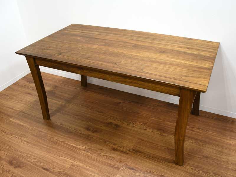 チーク コルベッティ<br>ダイニングテーブル 1500<br>