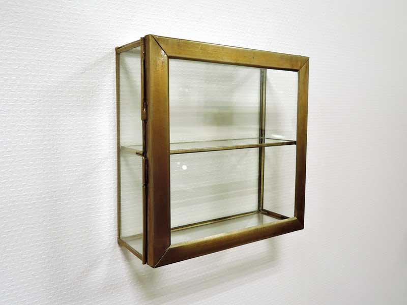 ブラス ガラスコレクション<br>ウォールボックス S<br>