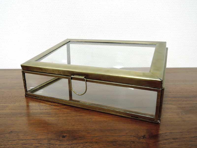 ブラス ガラスコレクション<br>ケース<br>