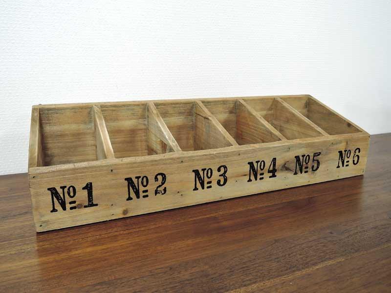 ウッド セパレートボックス 6<br>