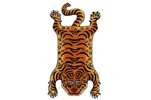 チベタン タイガーラグ<br>レッドアイ M<br>