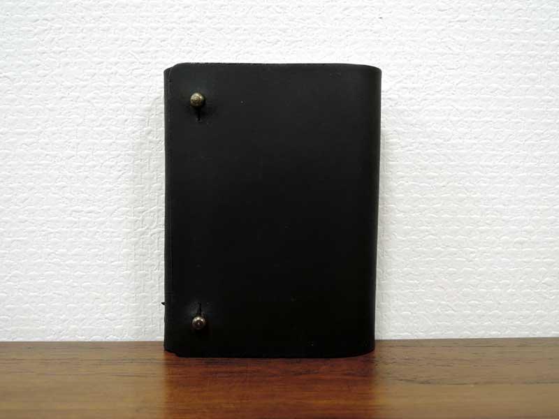 レザーカードケース S<br>ブラック<br>