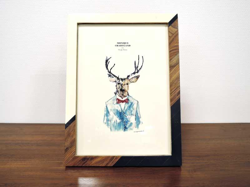 フォトフレーム<br>Mr.Deer A4<br>