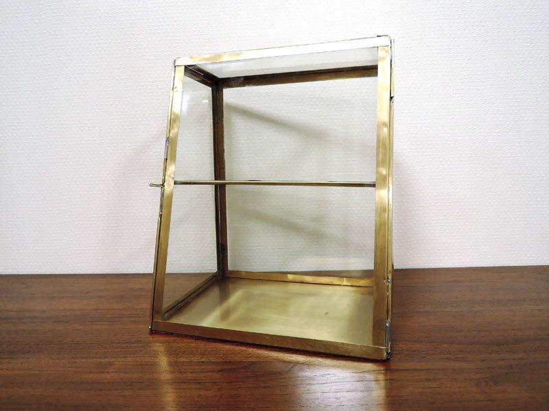 ブラス ガラスコレクション<br>ケース 2 ステージ L<br>