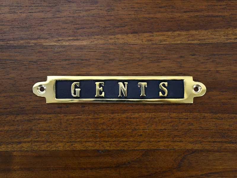 ブラスサイン<br>GENTS<br>