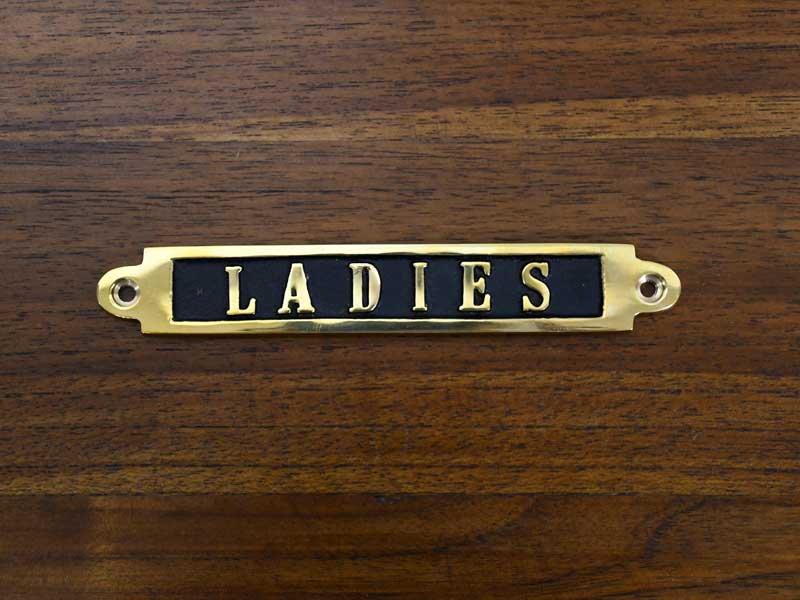 ブラスサイン<br>LADIES<br>