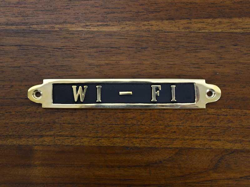 ブラスサイン<br>WI-FI<br>
