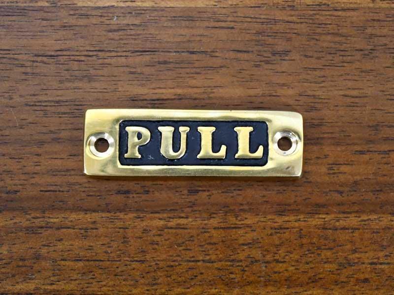 ブラスサイン<br>PULL<br>