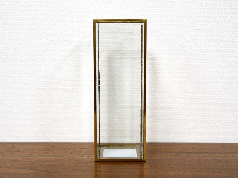 ブラスフレーム ガラスベース<br>バーティカル<br>