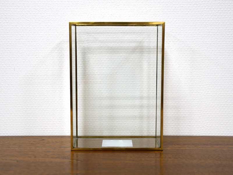 ブラスフレーム ガラスベース<br>ワイド<br>