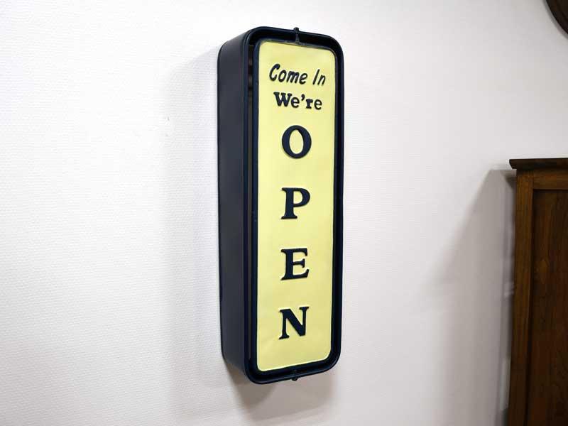 ローテーションサイン<br>オープン&クローズ<br>