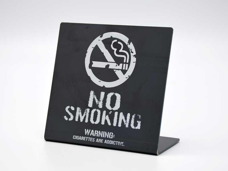 アイアンサイン スタンド<br>NO SMOKING<br>