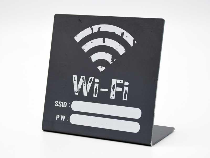 アイアンサイン スタンド<br>Wi-Fi<br>