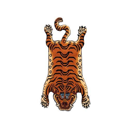 チベタン タイガーラグ<br>ブルーアイ M<br>