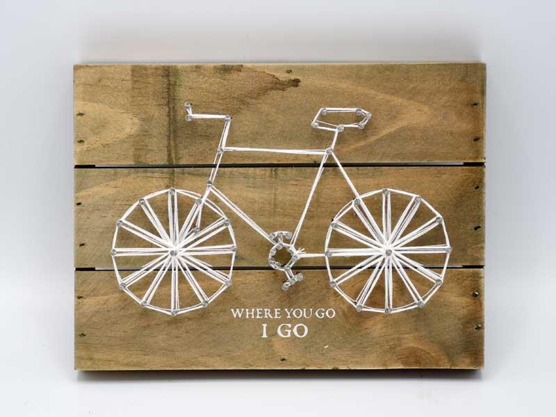サイクルプレート<br>コットン x ウッド<br>