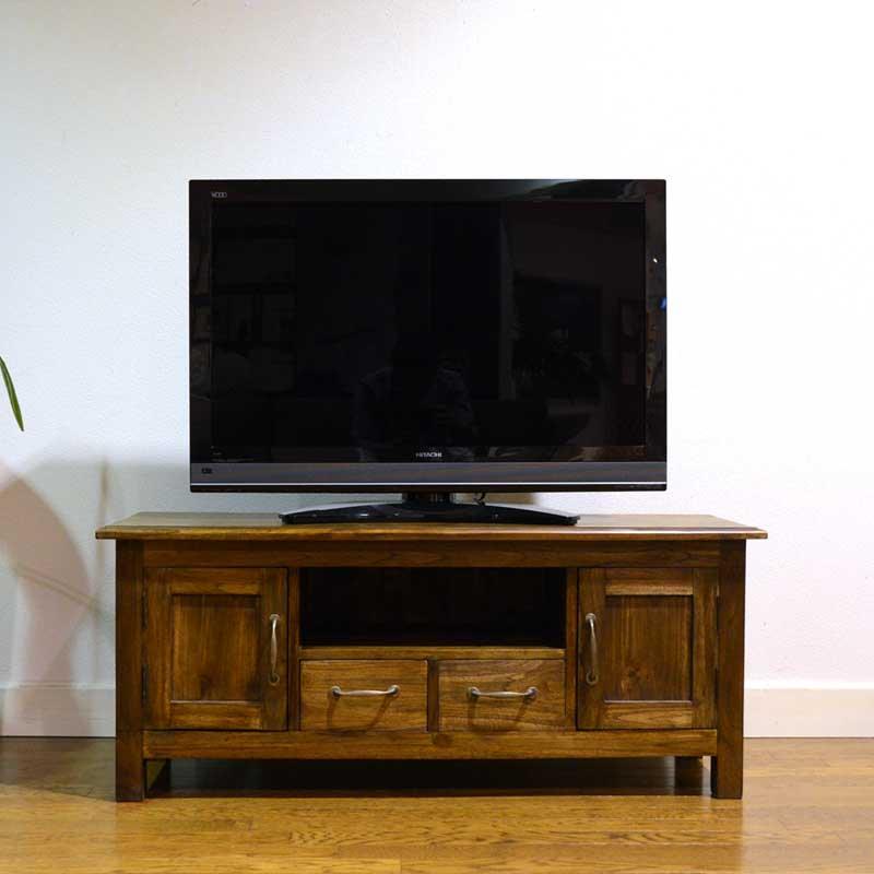 チーク ペック テレビボード120<br>