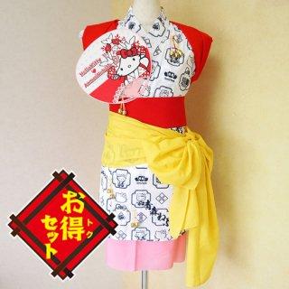 ハローキティのハネト衣装セット(伝統配色)