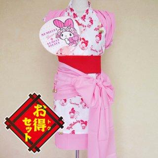 マイメロディのハネト衣装セット(ピンク)
