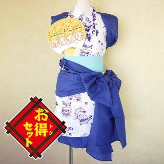 ラスカルのハネト衣装セット(レディース・こん)