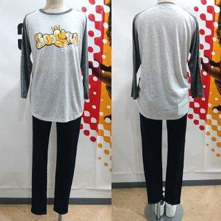 快獣ブースカの7分袖Tシャツ(オートミール)