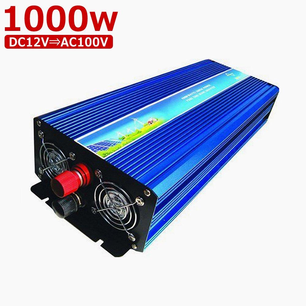純正弦波 インバーター 変換器 定格1500W (12V-100v) DC→AC 50Hz/60Hz 瞬間最大3000W