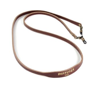 SHRINK LEATHER SOFT BRACECODE / Dark Brown