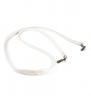 SHRINK LEATHER SOFT BRACECODE / White