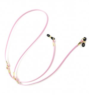 CLASSY GENUINE LEATHER GLASS CODE / Pink