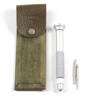 SCREW DRIVER WITH LEATHER CASE 2 / Khaki & Khaki