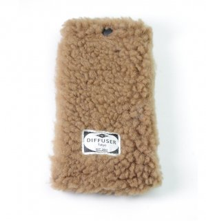 HEAVY BOA SOFT EYEWEAR CASE   /  Light Brown