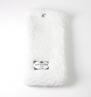 HEAVY BOA SOFT EYEWEAR CASE   /  White