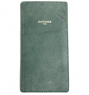 INNER POCKET EYEWEAR CASE / Crash Green & Grey