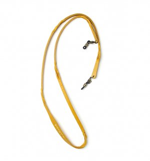 TWISTED LEATHER SOFT BRACECODE / Yellow