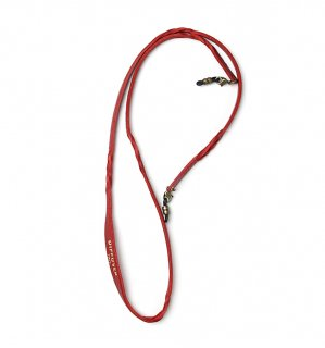 TWISTED LEATHER SOFT BRACECODE / Red