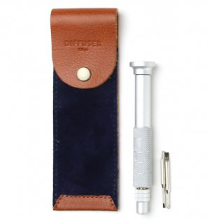 SCREW DRIVER WITH LEATHER CASE 3 / Orange & Navy