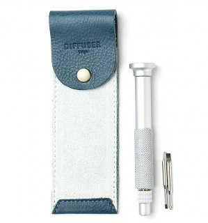 SCREW DRIVER WITH LEATHER CASE 3 / Turqoise & Light Blue