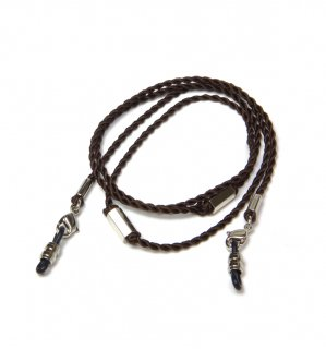 SIX SIDE SILK BRACE  CORD / Dark Brown