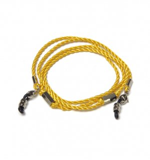 SIX SIDE SILK BRACE  CORD / Yellow
