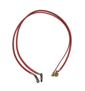 STICH LEATHER DETACHABLE GLASS CODE / Dark Red